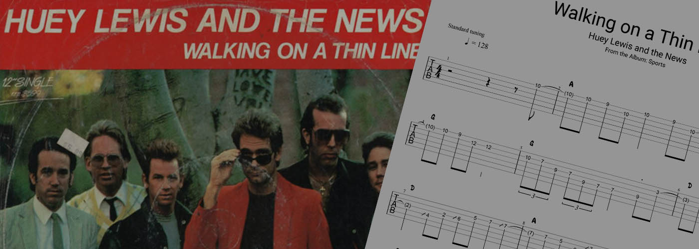 Walking on a Thin Line – Guitar Solo