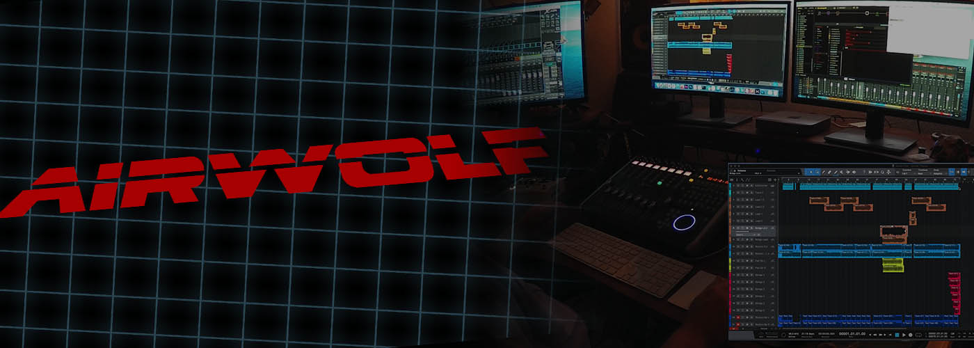 Airwolf TV Show Theme (Metal Cover) & Behind the Scenes